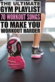 looking for the best workout songs that are upbeat enough for running cardio and