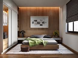 wood slat wall. 25 Beautiful Examples Of Bedroom Accent Walls That Use Slats To Look Awesome Wood Slat Wall R