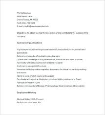 Writers Resume Template