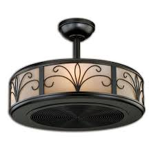 Flush Mount Enclosed Ceiling Fan With Light Ideas Afroziaka