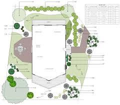 garden design plans. Landscape Design Example Garden Plans W
