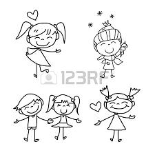 Stock Photo Disegno Tatuaggi Bambini Disegni A Mano E Tatuaggi