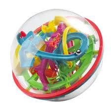 <b>Головоломка</b> Icoy Toys Шар Лабиринт цветной (100 ходов ...