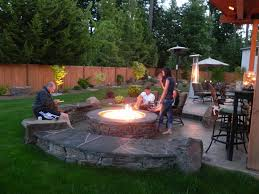 outdoor fireplace ideas on a budget