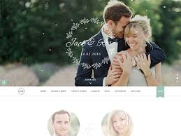 Wedding Wordpress Theme 60 Best Wordpress Wedding Themes 2019