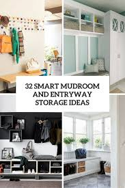 32 Small Mudroom And Entryway Storage Ideas  Shelterness throughout Small Entryway  Ideas