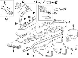 parts com® chevrolet traverse fuel system components oem parts 2009 chevrolet traverse ltz v6 3 6 liter gas fuel system components
