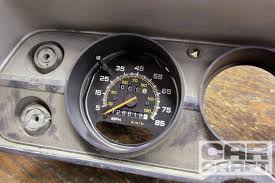 classic instrument wiring diagram electronic speedometer modern electric speedometer conversion junkyard builder car craft hot rh hotrod com electric speedometer wiring electric speedometer wiring