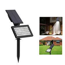 Solar Led Landscape Lights 2w Solar Powered 50 Led Landscape Spot Light Outdoor Garden Ip44 Waterproof Lawn Lamp