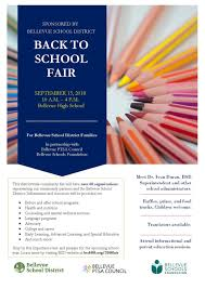2018 bellevue ptsa council back to fair