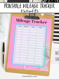 Track Mileage Track Your Runs With This Printable Mileage Tracker