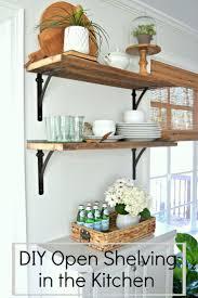 kitchen shelves ideas decor farm house cabinets diy farmhouse