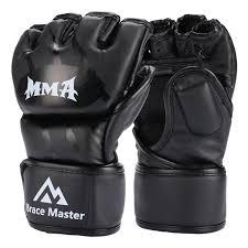 Ufc Glove Size Chart Brace Master Mma Gloves Ufc Gloves Leather More Paddding For Men Women Knuckle Wrist Protection Fingerless Sparring Gloves For Training Kickboxing