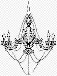 Zeichnung Clip Art Kronleuchter Vektor Png Herunterladen