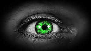 Resultado de imagen de evil green eye