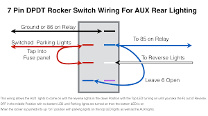 another rear aux back up light switch question toyota fj as you can see below i jumped the switched power to go onto 1 and 2 3 and 4 have a jumpered blue wire that goes to 85 on the relay