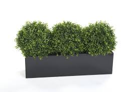 Artificial Window Box With Artificial Box Plants
