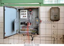 old fuse box stock photos old fuse box stock images alamy an old fuse box in a disused factory stock image