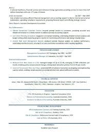 Sample Australian Resume Format The Employment Guide Accounting