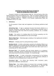 Department Of Public Works And Highways (Dpwh) Additional Rules And R…