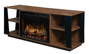 dimplex arlo media console electric fireplace with log