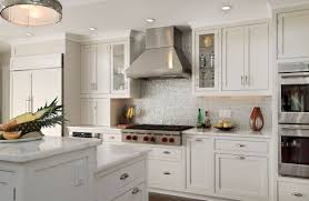 Kitchen Backsplash Ideas With White Cabinets Modern Design White Granite  Matching Table Made From Woods Gray Appliances Most Favourite Kitchen Set Photo Gallery