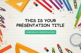 Free Children Presentation Templates