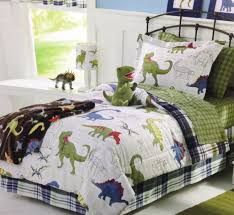 dinosaur bedding and curtains