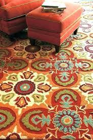 turquoise and orange rug area grey blue rugs elegant oran