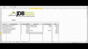 Small Business Tax Excel Spreadsheet New Accounting And Tax