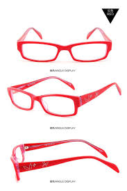 optical frames woman full eyeglass spectacle frame acetate glasses rectangle small face business eyewear prescription red 1096