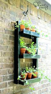 outdoor wall planter wall hanging herb garden outdoor wall mounted herb garden hanging wall planter tips