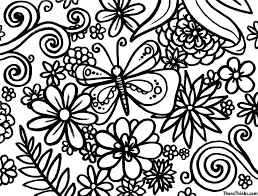 Coloring Pages Spring Coloring Pages Printable For Kindergarten