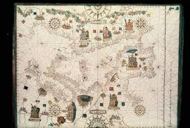 Portolan Charts File Bodleian Libraries Portolan Chart Of The Central And