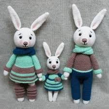 Amigurumi Patterns Free New Bunny Family Crochet Toys Free Patterns Amigurumi Today