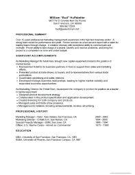 Basic Job Resume Examples Resume Directory