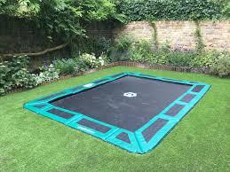 in ground trampoline. In Ground Trampoline E