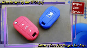 Item review - Silicone <b>Case</b> For Peugeot <b>Car Keys</b> - YouTube
