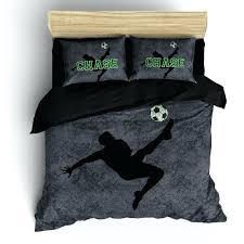 soccer bedding twin custom grunge soccer bedding personalized with your by soccer bedding twin size