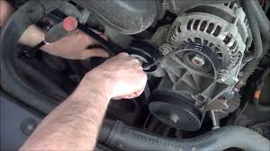 3 8 14 how to change serpentine belts on a 2007 gmc yukon