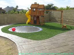 Grass Turf Gila Crossing, Arizona Playground, Backyard Landscaping Ideas