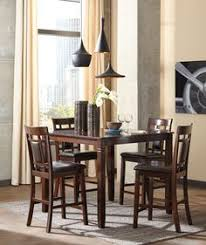 signature design by ashley bennox 5 piece counter height dining set