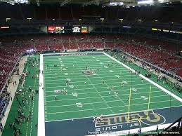 Edward Jones Dome Seating Chart Football The Dome At Americas Center View From Upper Level 429
