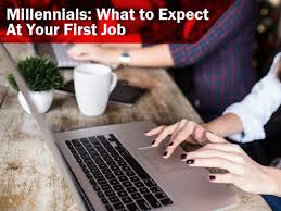 millennials what to expect at your first job heat millennials what to expect at your first job