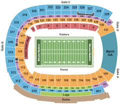Tcu Football Seating Chart Tcu Horned Frogs Football Tickets 2019 Browse Purchase