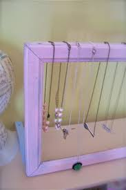 diy craft show display tutorial 3 vintage frame necklace stand