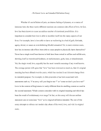 definition essay on love co definition essay on love