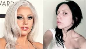 pop stars without makeup you