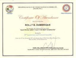 i electrical audit for mepf certificate of attendance electrical audit for mepf certificate of attendance