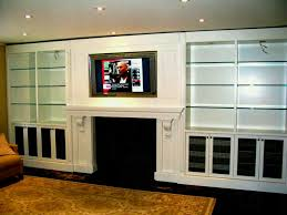 lovable built wall unit designs delectable modern living room features cost custom units glass shelf and